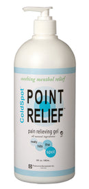 Topical Pain Relief Point Relief® ColdSpot™ 0.06% - 12% Strength Menthol / Methyl Salicylate Topical Gel 32 oz.