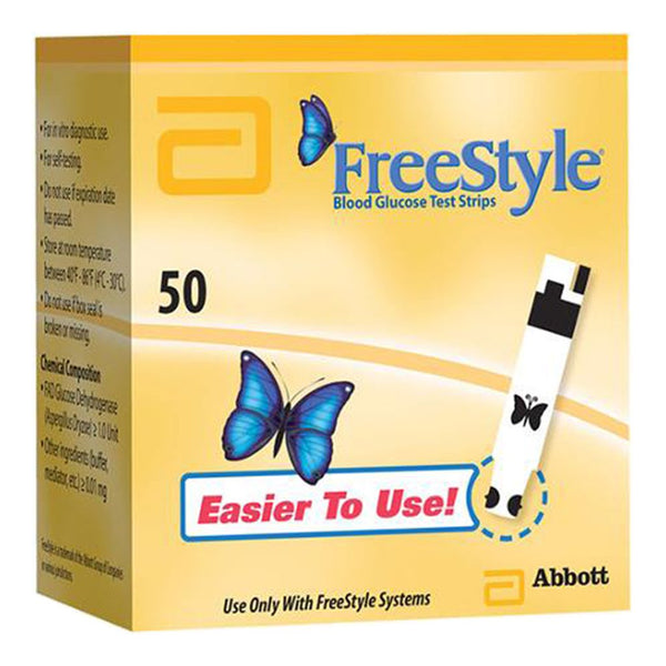 FreeStyle Blood Glucose Test Strips 50 CT