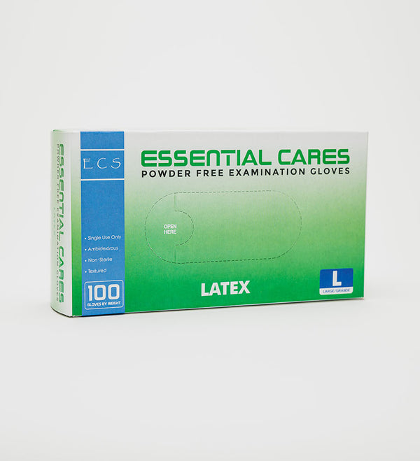 Essential Cares Powder Free Examination Gloves( Different Size included)