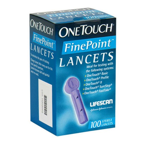 OneTouch FinePoint Lancets