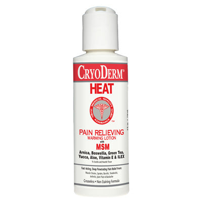 Cryoderm Heat Pain Relieving Warming Lotion