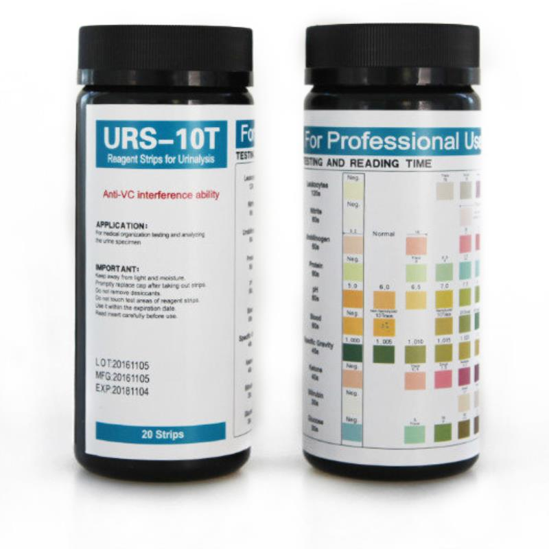 Urine Test Strips 10 Parameter 100ct