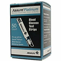 Assure Platinum Blood Glucose Test Strips, 50CT