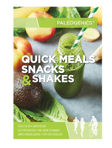 Paleogenics Quick Meals Snacks and Shakes