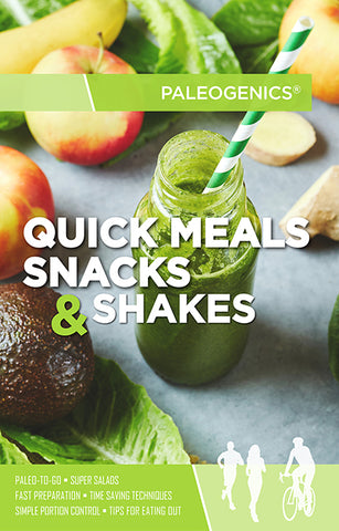 Quick Meals, Snacks & Shakes Guide (ebook)