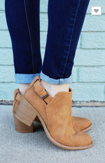 Oxford Caged Bootie