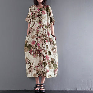 Robe floral