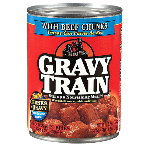 Canned Dog Food: 12 - 13.2 oz. cans