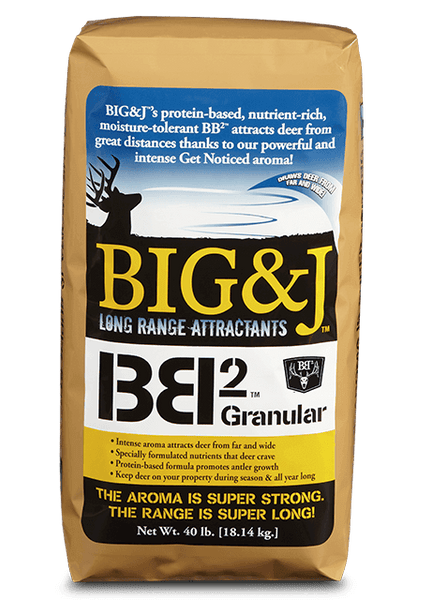 Big & J BB2 Granular Attractant 20 lb bag