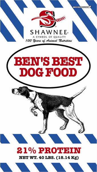 Shawnee Ben's Best Dog Food