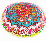 Aluna Indie  Colorful Mandala Pillow Case