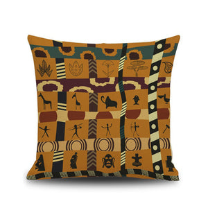 Aluna Indian Style Linen  Pillow Case