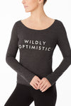 Long Sleeve Top - Wildly Optimistic