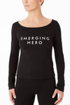 Long Sleeve Top - Emerging Hero