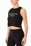 Muscle Crop Top - Emerging Hero
