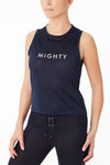 Mesh Muscle Tee - Mighty