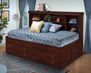 Jeffrey Full or Twin Storage Bed