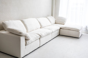 RH Cloud Luxe Modular Low Profile Feather Down Sofa