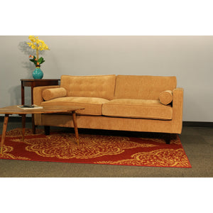 The Hughes Living Room Set Copper