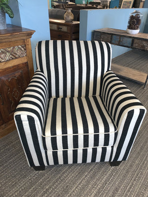 Capone Striped Accent Chair