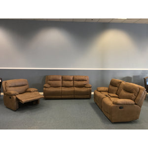 The Jaden Brown Reclining Set