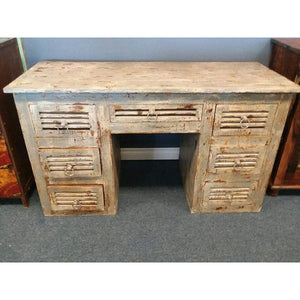 WDN. 7 DRAWERS WRITING TABLE