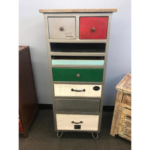 IRON WDN. CHEST OF DRAWERS