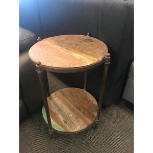 IRON WDN. SIDE TABLE