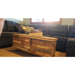 RECYCLED TIMBER TRUNK