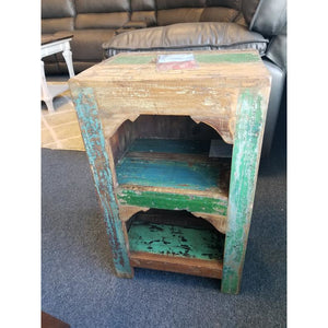 RECYCLED TIMBER BOOK SHELF