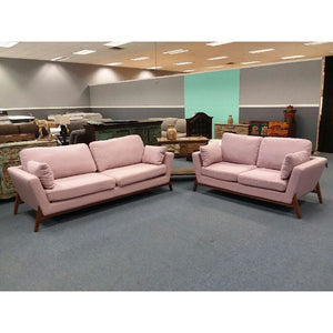 Blush Jackie Sofa & Loveseat