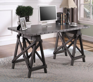 Michael Industrial Adjustable Desk
