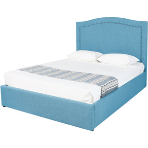 Blue Natasha Storage Bed