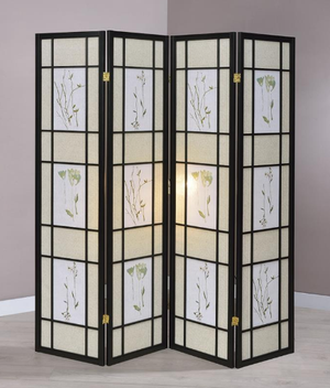 Oriental Floral Changing Screen