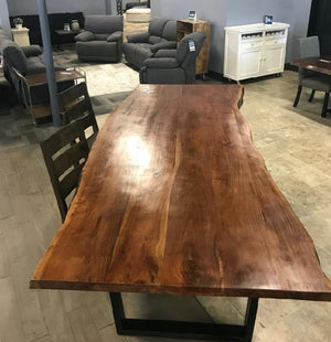 Large Live Edge Dining Table