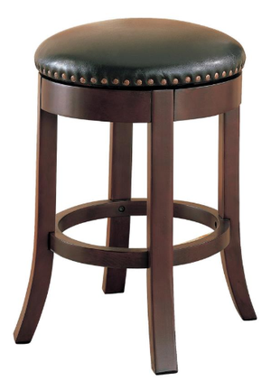 Swivel Button Counter Height Bar Stool