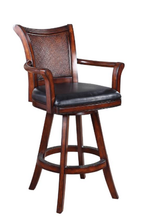Traditional Wooden Bar Stool
