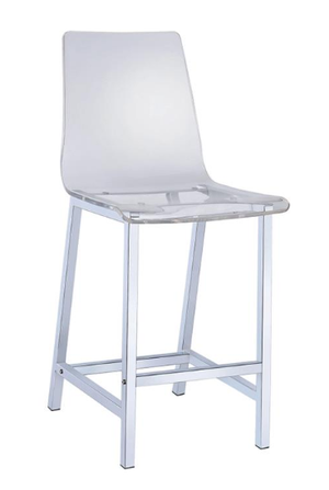 Transparent Recreational Bar Stool