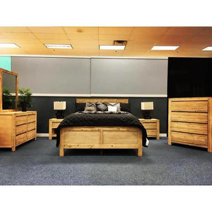 Pacific Series King Bed