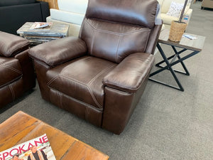Robert Reclining Sofa, Loveseat or Chair - BROWN