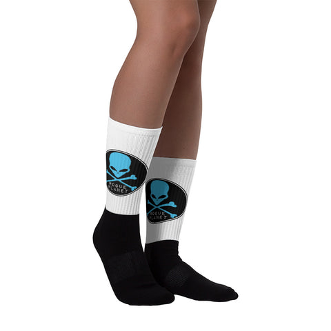 Rogue Planet Skull Socks