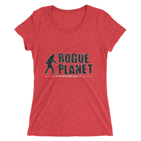 Ladies' short sleeve Rogue Planet Bigfoot t-shirt