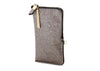 METALLIC ZIP CASE - PWT/GLD
