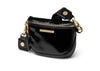 BUM BAG - SHNYBLK/GLD