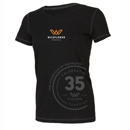 Celebrate your Long Course Finish ! From All Sport this high endurance performance triblend fabrication features extreme performance capabilities, but feels like a cotton tee. 50% polyester, 37.5% combed and ring-spun cotton, 12.5% rayon. Tonal stich that is one shade darker than body color (Black body features a tonal stich that is one shade lighter than body color. White body features a grey tonal stitch). Set-in sleeves; Tear away label; Dry wicking; Antimicrobial. Item id wexthf131114w