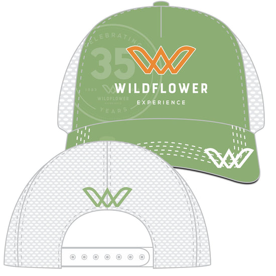 Traditional 6-panel Trucker cap with Technical features - structured performance material front panels, wicking internal sweatband, anti-glare under-bill, mesh side and back panels, snap-back closure. Machine-washable. From Boco, the leader in technical headwear. Item id wexthh981812n