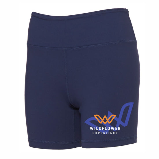 Fitted technical dry-wicking, antimicrobial mid-rise shorts. Item id wexths322512w
