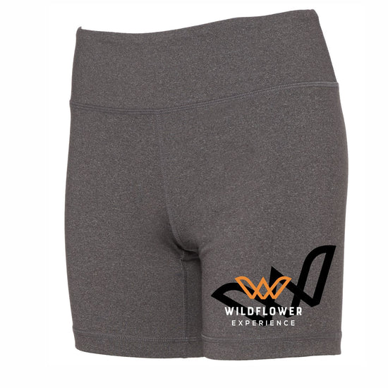Fitted technical dry-wicking, antimicrobial mid-rise shorts. Item id wexths327411w