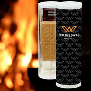 "Our small S'mores(r) kit tube includes 4 graham cracker sheets, 4 marshmallows, 2 Hershey's(r) milk chocolate bars and 2 toasting sticks to make 4 servings. Each tube measures 3""D x 9.69""H and is imprinted with the event logo. Cooking directions are printed on back of custom insert. Item id wexthx711117n"