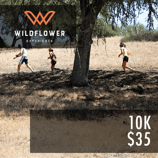 Wildflower Experience: 10k Gift Card - Sunday May 5, 2019